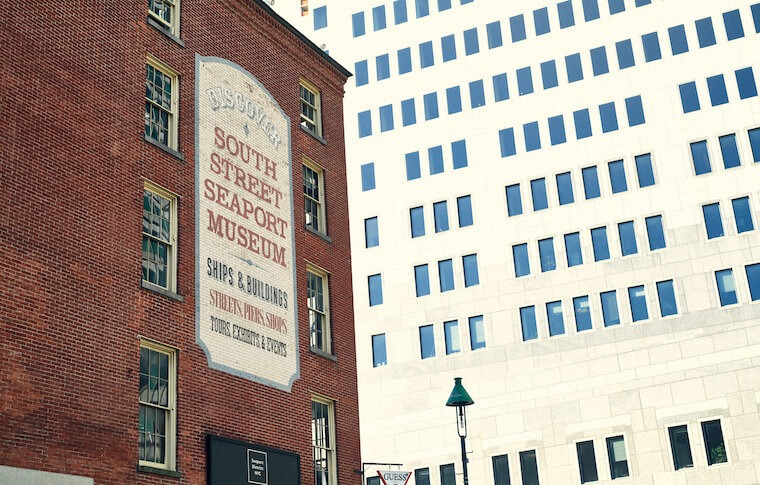 South Street Seaport Museum exterior