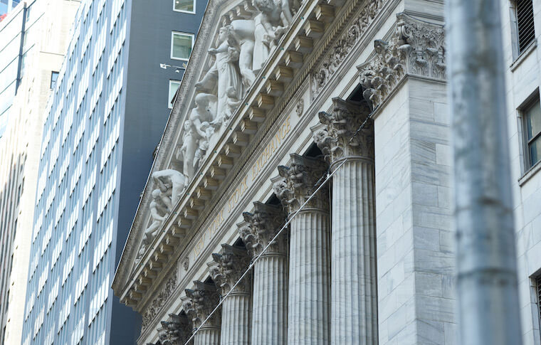 New York Stock Exchange exterior