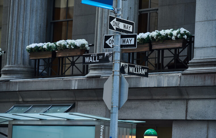 New York signposts