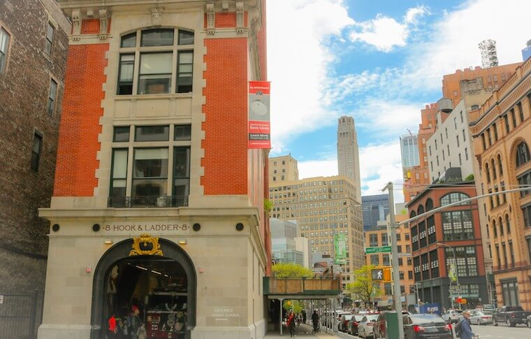 Hook & Ladder 8, the firehouse featured in Ghostbusters